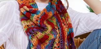 Garden Trellis Shawl Free pattern