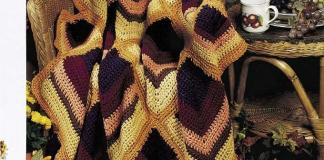 Crochet Harvest Hues Afghan Pattern