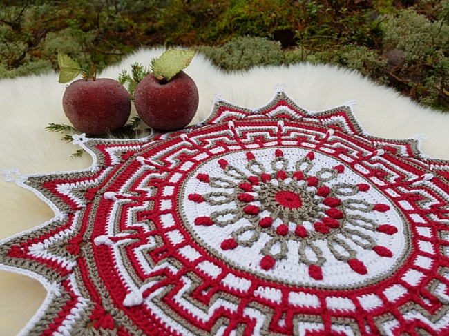 Crochet Star of the Forest