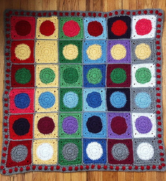 Color Mixing Baby Blanket1