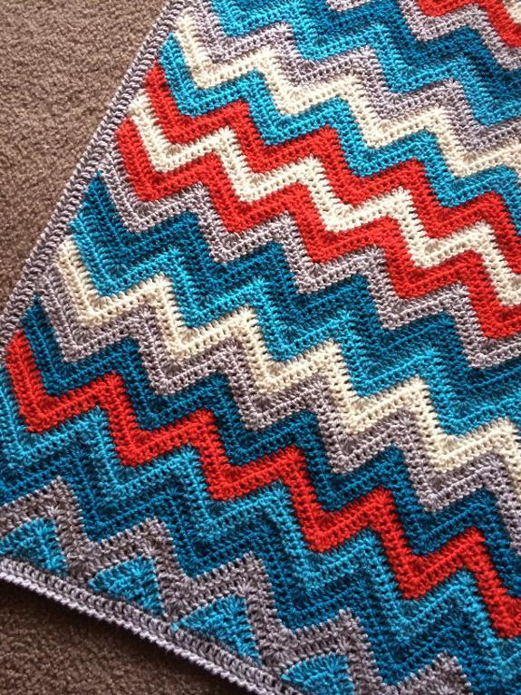 A Chevron Crochet Blanket Basic Guide 30 Chevron Crochet Patterns Crochet Patterns How To Stitches