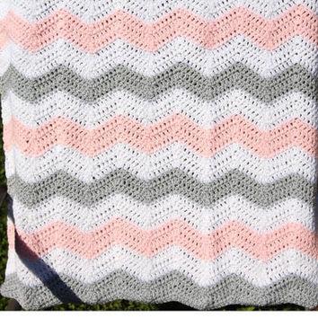 A Chevron Crochet Blanket Basic Guide Best Crochet Chevron Blanket Products On Wanelo