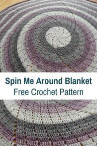Afghans Crochet Patterns Super Quick Circular Blanket Crochet Pattern Knit And Crochet Daily