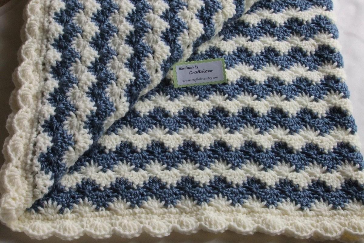 Basic & Standard Patterns for Boy Blanket Crochet Ba Boy Blanket Crochet Ba Blanket Crochet Boy Blanket Etsy