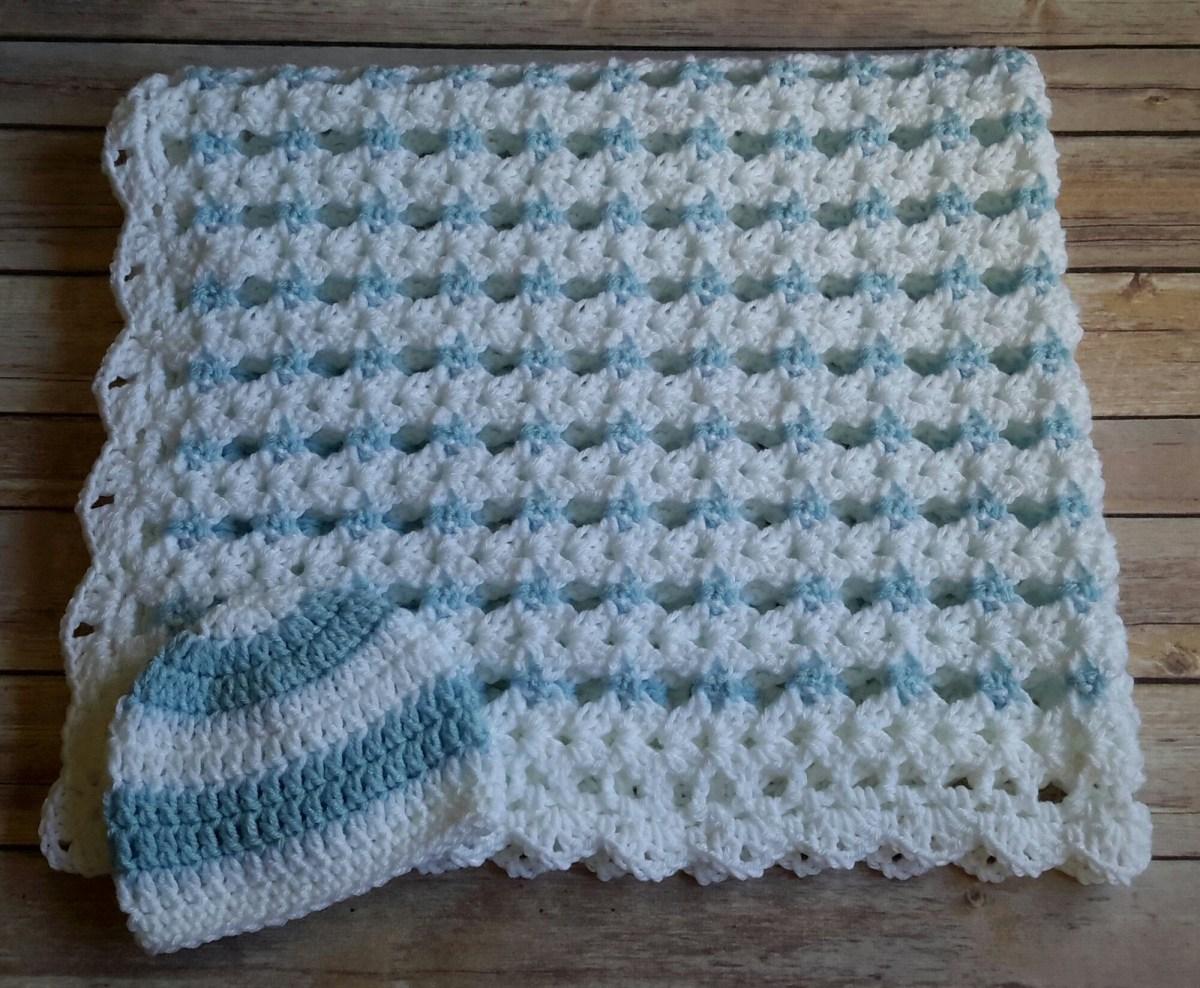 Basic & Standard Patterns for Boy Blanket Crochet Ba Boy Blanket Crochet Stripe Crochet Blanket Afghan Etsy