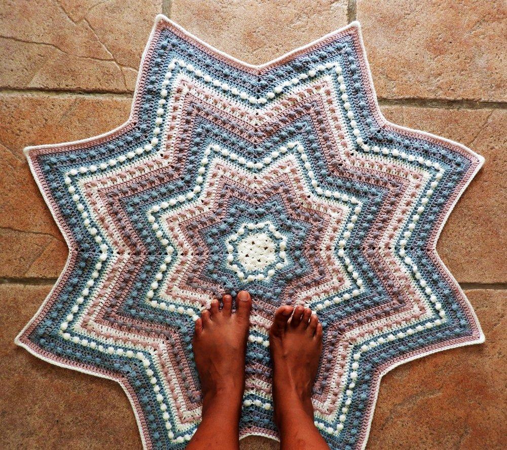 Blanket Crochet Pattern Starlet Ba Blanket Crochet Pattern Nomad Stitches