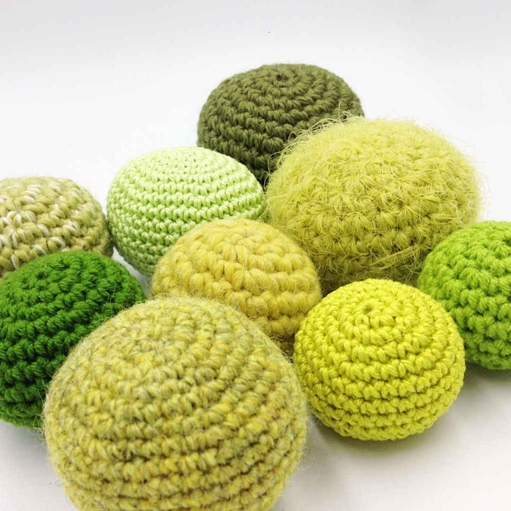 Crochet Ball Pattern Crochet Ball Swatches
