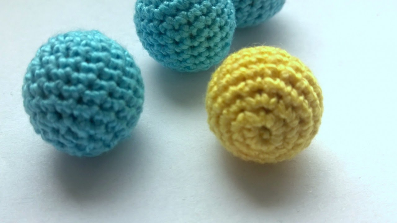 Crochet Ball Pattern Make A Decorative Crochet Bead Diy Crafts Guidecentral Youtube