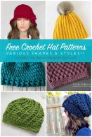 Crochet Beanie Pattern Free Crochet Hat Patterns Daisy Cottage Designs