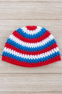 Crochet Beanie Pattern Patriotic Crochet Hat Pattern For A Boy