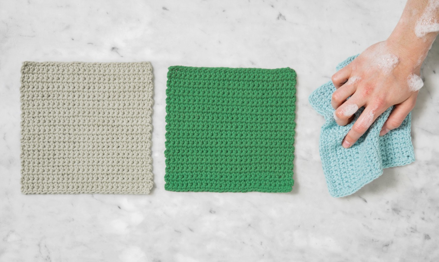 Crochet Dishcloths Free Patterns  Easiest Crochet Project Ever Stitch A Dishcloth