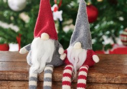 Crochet Gnomes Patterns Pattern Download Hannah Cross Crochet Christmas Gnomes Simply