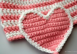 Crochet Hearts Free Pattern Free Pattern Crochet Valentine Heart Earflap Hat Classy Crochet
