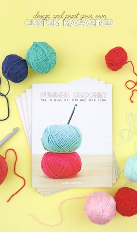 Crochet Patterns Fun How To Make And Print Your Own Magazine My Summer Crochet Pattern