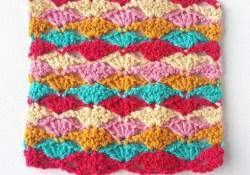 Crochet Stitch Pattern  How To Crochet Lace Fan Stitch Annie Design Crochet