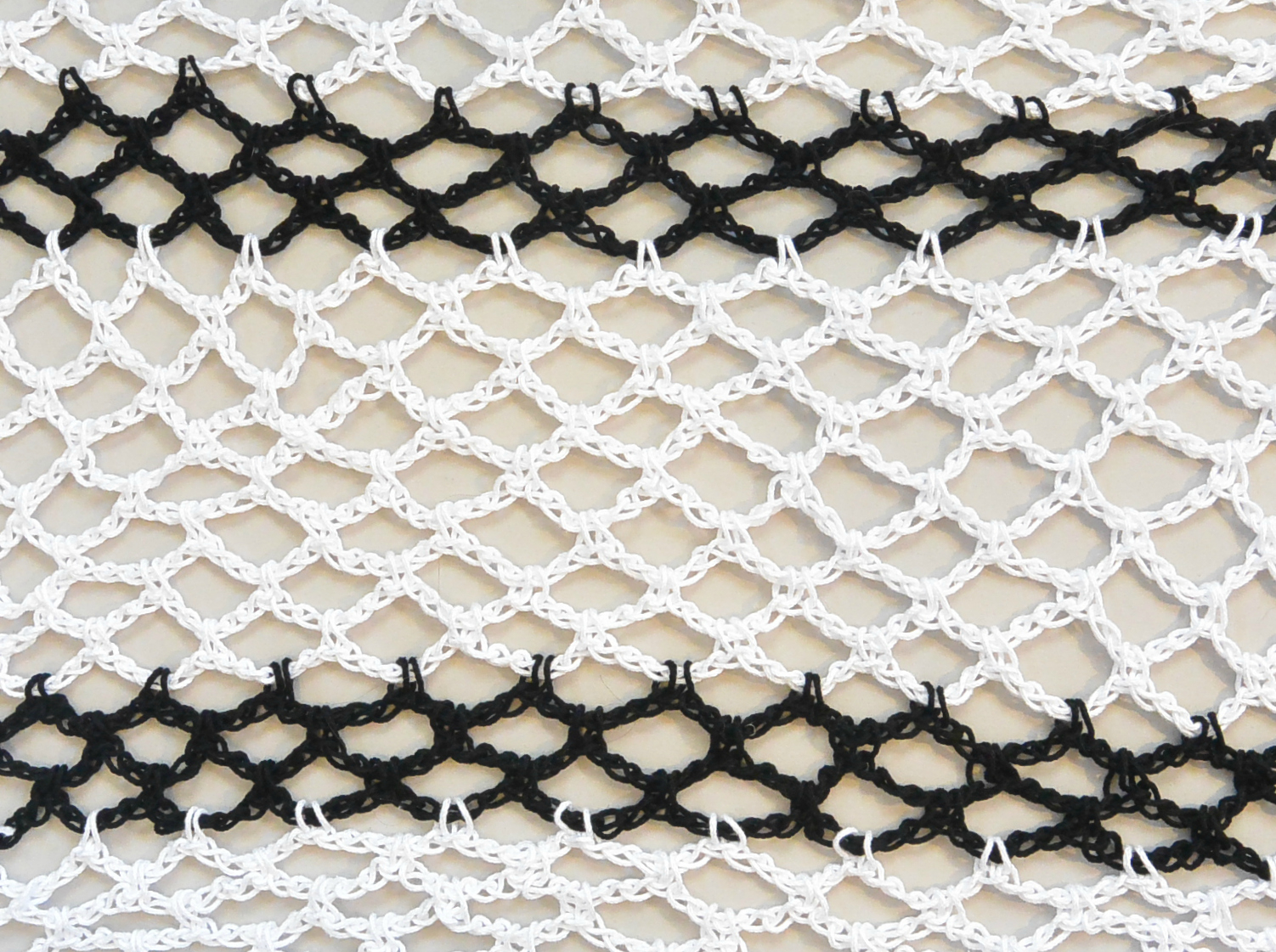 Diamond Crochet Pattern  How To Crochet Diamond Mesh Stitch Mama In A Stitch