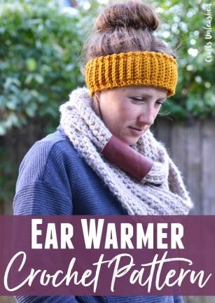 Ear Warmers Crochet Pattern Crochet Ear Warmer Pattern Step Step Consumer Crafts