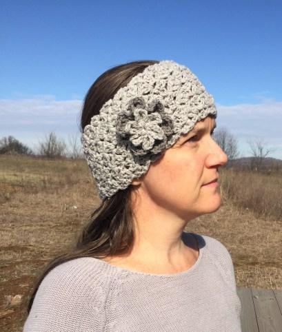 Ear Warmers Crochet Pattern Crochet Pattern Queens Lace Ear Warmer To Fit Toddlers Children