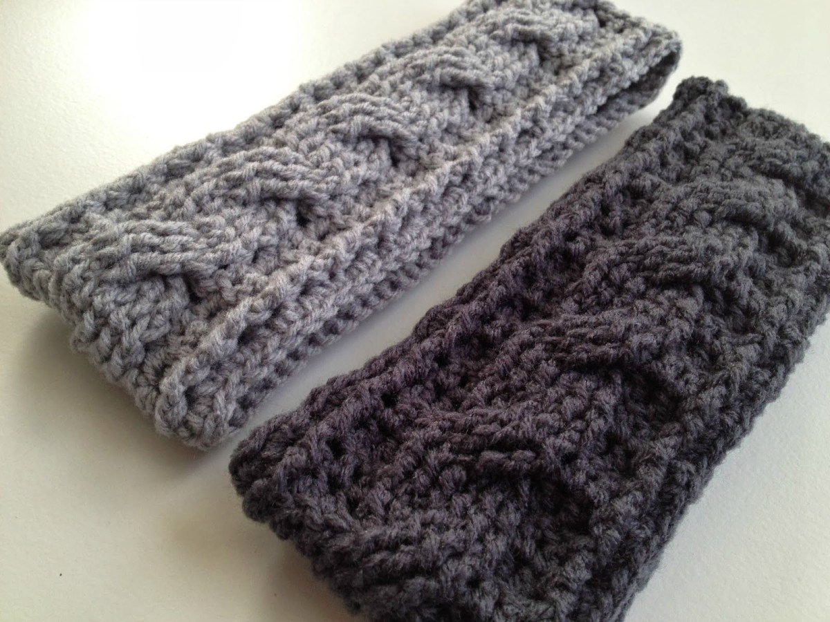 Ear Warmers Crochet Pattern Pin The Praying Farmhouse On Crochet Stitches Crochet Crochet