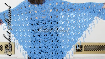 Easy Crochet Patterns Shawl Crochet Pattern A Simple Project To Learn How To Crochet