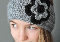 Free Crochet Ear Warmer Pattern Crochet Flower Headband Ear Warmer Pattern Chunky Hat Twist Women