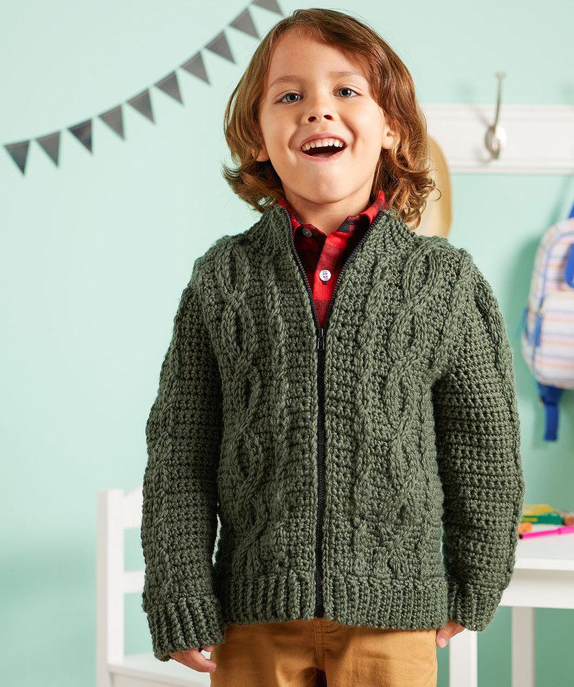 Free Crochet Jacket Pattern Designs for All Seasons Kids Crochet Jacket Pattern Archives Crochet Kingdom 4 Free