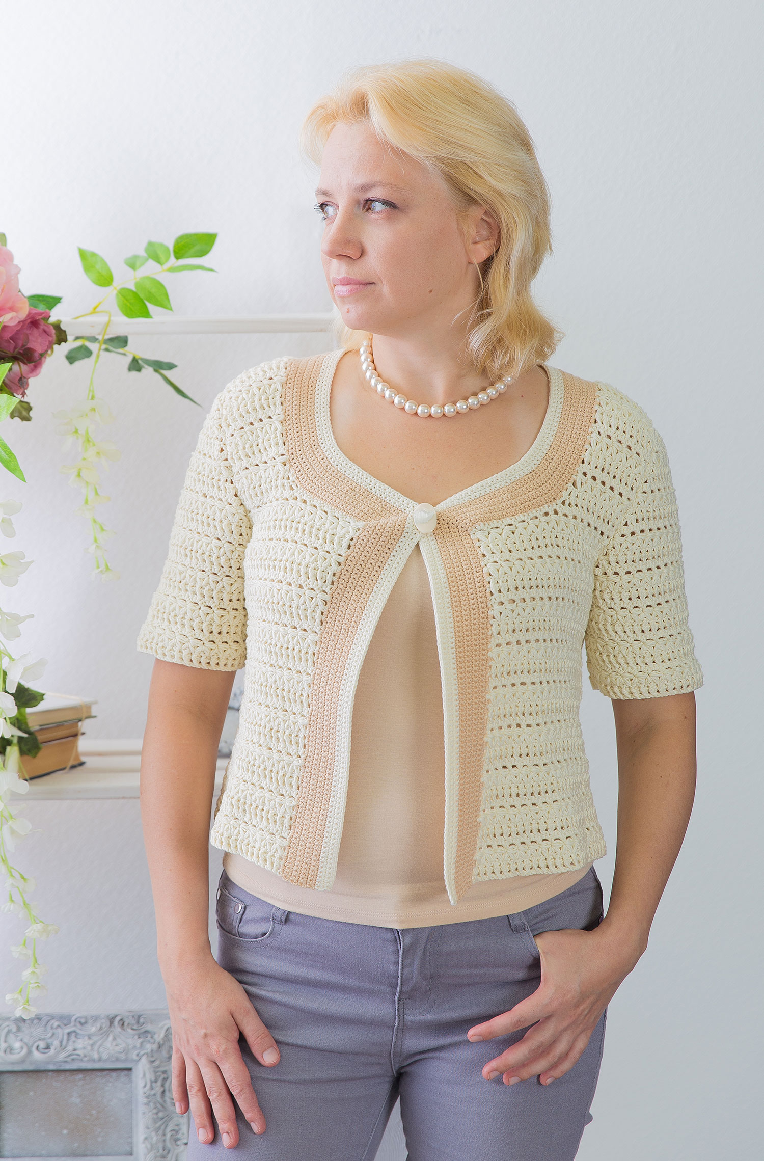 Free Crochet Jacket Pattern Designs for All Seasons Summer Crochet Jacket Pattern