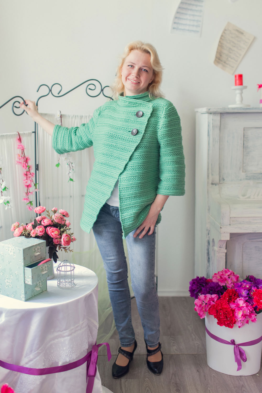 Free Crochet Jacket Pattern Designs for All Seasons Wool Crochet Jacket Pattern