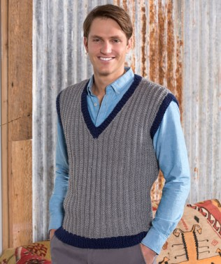 Knit Crochet Patterns 36 Knit And Crochet Patterns For Men Red Heart