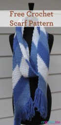 Knit Crochet Patterns Free Crochet Simple Striped Scarf Pattern Interweave