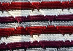 Navajo Crochet Pattern Navajo Indian Diamond Crochet Pattern 60 X 40 Inch Blanketafghan