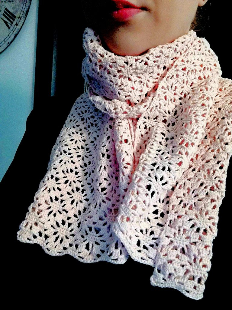 Pretty Crochet Scarf Pattern How To Crochet A Lace Scarf Free