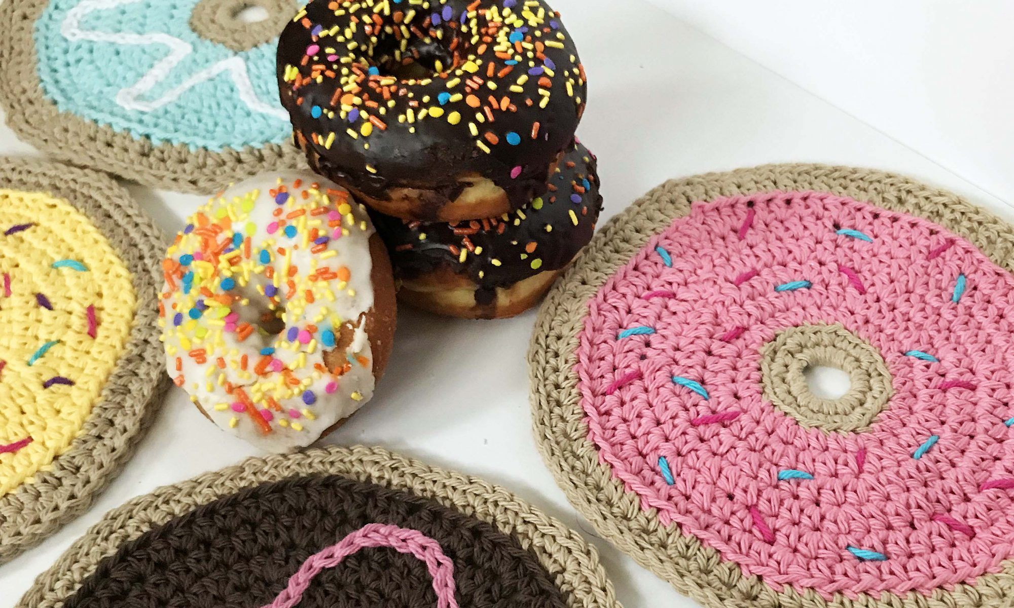 Quick and Simple Dish Cloth Crochet Pattern Donut Dish Cloth Free Crochet Pattern Green Fox Farms Designs