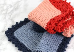 Quick and Simple Dish Cloth Crochet Pattern Free Crochet Dishcloth Pattern Cottage Dishcloth Consumer Crafts