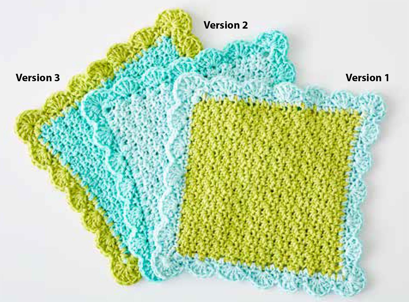Quick and Simple Dish Cloth Crochet Pattern Mary Maxim Free Scalloped Crochet Dishcloth Pattern