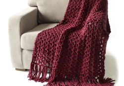 Quick Crochet Patterns Free Free Pattern Lion Brand Thick And Quick 5 And A Half Hour Throw