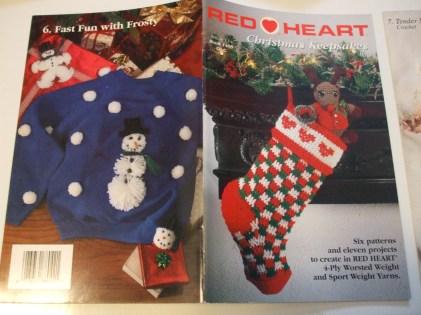 Redheart Crochet Patterns Christmas Keepsakes 1408 Red Heart Crochet Patterns Prices Us