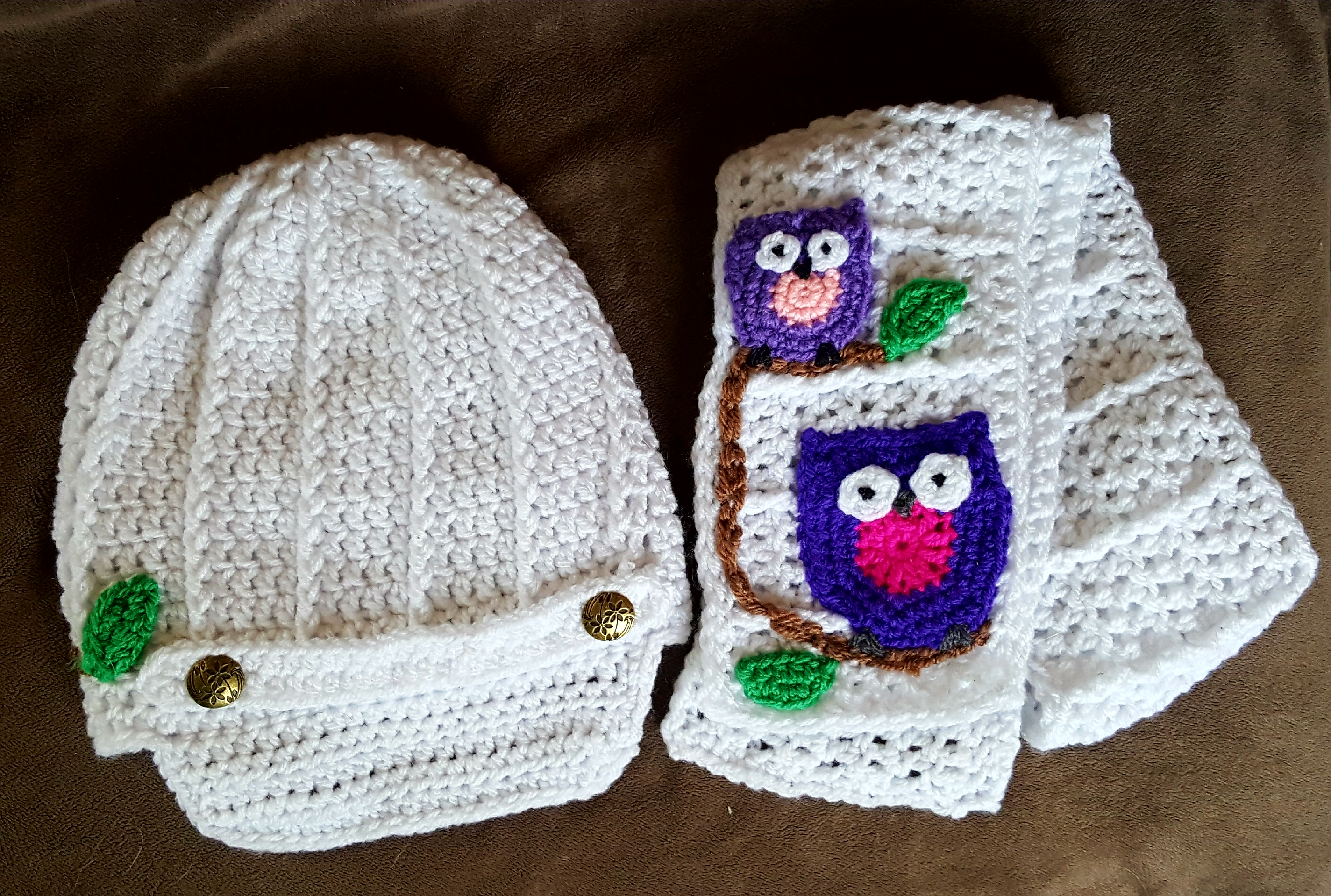 Scarf Crochet Pattern Free to Upgrade Your Winter Style Free Pattern For A Cute Crochet Hat And Scarf Set With Owl Motif