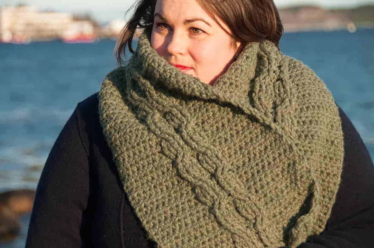 Scarf Crochet Pattern Free to Upgrade Your Winter Style Ora Scarf Crochet Pattern Easy Crochet Pattern Joy Of Motion
