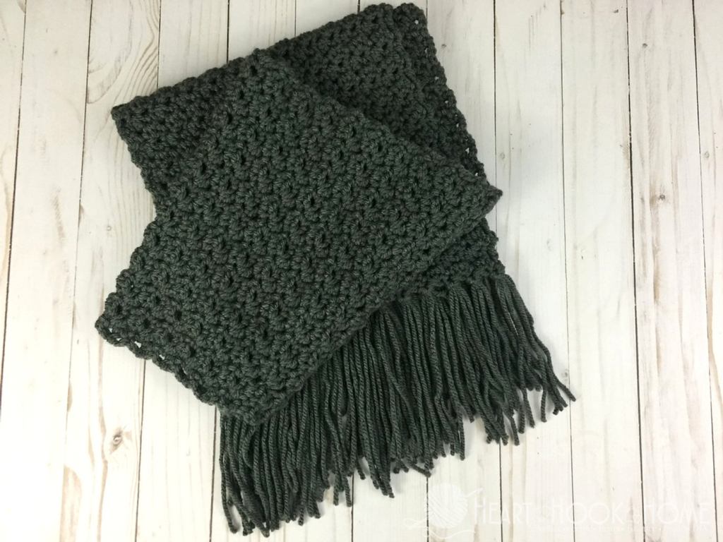 Scarf Crochet Pattern Free to Upgrade Your Winter Style Simple Scarf For Men Free Crochet Pattern
