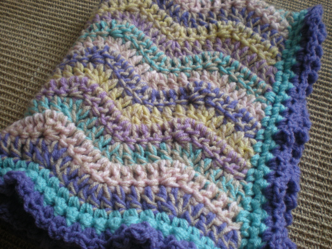Things To Crochet  Crochet Spring Rainbow Ba Blanket All Things Crochet With