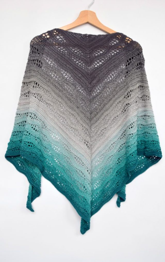 Kalinda Shawl Free Crochet Pattern By Mycrochetory