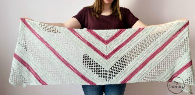 Spring Solstice Wrap Crochet Pattern Part 3 Mycrochetory