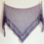 Crochet Nightfall Shawl