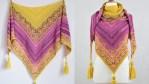 Carina Mosaic Crochet Shawl