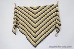 Clamshell Crochet Shawl free pattern
