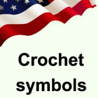 Crochet symbols and abbreviations