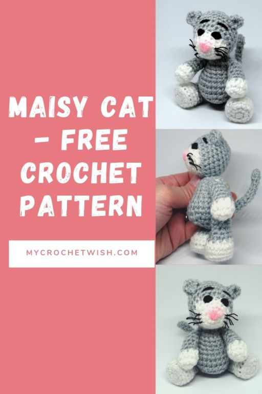 Maisy Cat Free crochet pattern