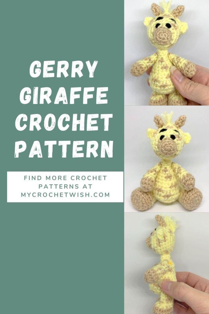 Gerry Giraffe Crochet Pattern