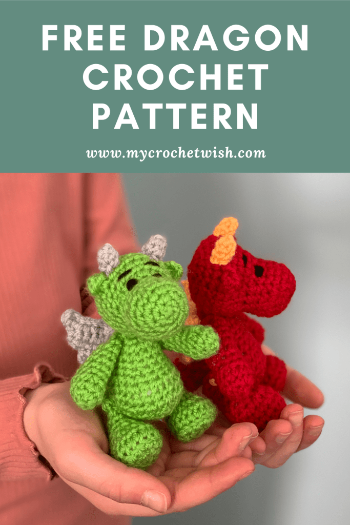 Dragon Amigurumi Crochet Pattern